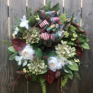 🌿✨Handmade tropical wreath ✨🌿